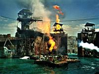 Waterworld in den Universal Studios (Los Angeles)